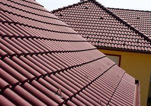 Strecha - Betónová strešná krytina Terran Danubia Evo Merlot