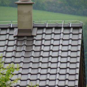Keramická strešná krytina Röben piemont hnedá engoba - realizácia strechy detail