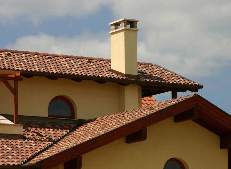 Betónová škridla Terran Coppo ferrara - realizácia strechy