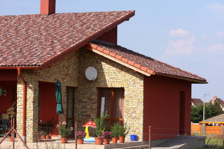 Betónová škridla Terran Coppo venezia - realizácia strechy