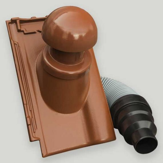 Röben Piemont - Komín pre odvetranie kanalizácie - komplet - priemer 110mm